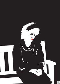 #ilartegrafica #ivanlitenskiartista #ilustracao #ilustracaodigital #illustration #illustrator #minimal #minimalista #minimalart #minimalillustration #ladydi #ladydiana