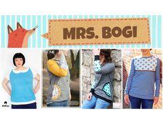 E-Book/Anleitung Mrs. Bogi XS-XXL von Annas-Country auf DaWanda.com