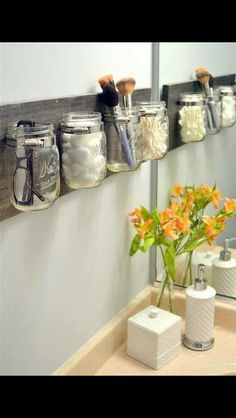 DIY toiletry holders!