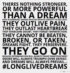 long live dreams