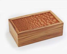 Lacewood and Gumwood Keepsake Box, Glasses Box, Small Wooden Box on Etsy, $38.00