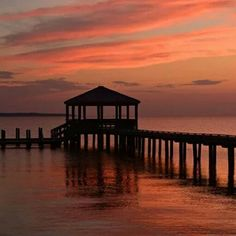 Colorful sunset OBX