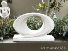 Focus Hebel Sculpture, House and Garden Art, Garden sculptures Abstract Sculpture, Sculpture Art, Sculpture Ideas, Outdoor Sculpture, Outdoor Entertaining, Garden Art, Art Boards, Sculpting, Planter Pots