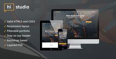 HiStudio | Creative Agency/Web Studio One Page Site Template (Corporate) - http://wpskull.com/histudio-creative-agencyweb-studio-one-page-site-template-corporate/wordpress-offers