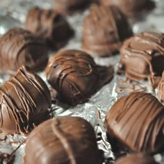 Say good-bye to store bought peanut butter cups, and say hello to these no bake chocolate covered bites. It doesn't get much simpler than...