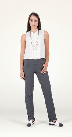 Great pants for women who commute to work.