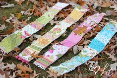 Quilt Square Scarf Tutorial & Giveaway (Closed) - Happy Together