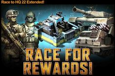 Mobile Strike Race To HQ 22 has been extended. - Mobile Strike Gold. http://www.mobilga.com/Mobile-Strike-gold.html, New brand website to Buy Mobile Strike gold, the cheapest price with security assurance you can't miss.
