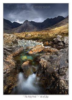Fairy Pools in the Cuilins, Scotland (Isle of Skye)