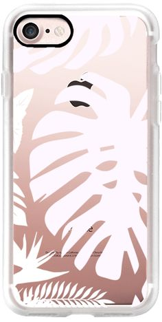 Casetify iPhone 7 Classic Grip Case - Tropical jungle light by maria kritzas #Casetify