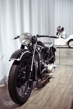 i'd really like an old motorcycle:)