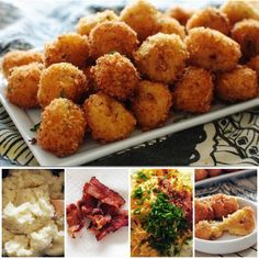 Loaded Cheesy Mashed Potato Balls