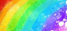 Watercolor Red, Watercolor Background, Happy Images, Free Artwork, Rainbow Background, Rainbow Aesthetic, Purple Backgrounds, Orange Red, Blue Green