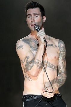 Adam Levine is a very sexy 33 today.