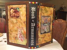 Book of armaments - any book that can be decorated like this - Image result for book of armaments