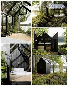 WABI SABI Scandinavia - Design, Art and DIY.: Your secret hideaway by the lake