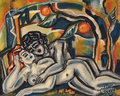 Jacqueline Ditt - Spirit of Eden (Paradiesische Stimmung) - universal arts Galerie Studio - Grafik Druck Kunstdruck nach Gemälde universal arts Galerie Studio edition http://www.amazon.de/dp/B00KAF66DU/ref=cm_sw_r_pi_dp_zOD5vb1JCG704