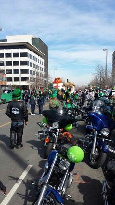 Eds Posse Kansas City St. Patrick s Day Parade 2014.