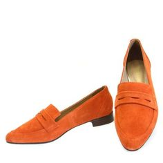 Mocassim Orange 1093 Moselle
