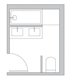 Small bathroom layout ideas from an architect for maximum space use Badezimmer Layouts Bathroom Layout Plans, Small Bathroom Layout, Modern Master Bathroom, Minimalist Bathroom, Bathroom Ideas, Master Bathrooms, Modern Bathrooms, Bathroom Design Layout, Budget Bathroom
