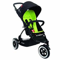 phil&teds Dot Buggy Stroller, Apple (Discontinued by Manufacturer)