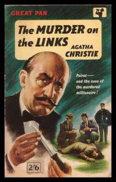 The Murder on the Links by Agatha Christie. Pan edition, 1960.