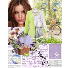 #Lavender Fields - Polyvore