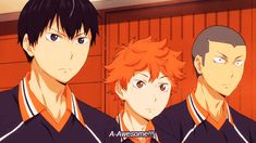 My reaction When I saw for the first time haikyuu...