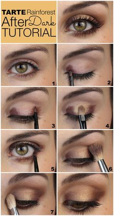 Step by step eyeshadow look- MakingUpTheMidWest