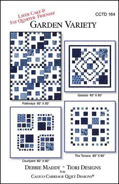 Quilt Pattern - Calico Carriage - Garden Variety