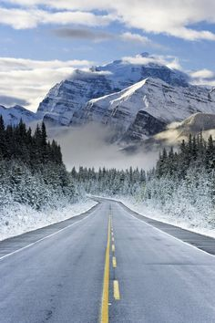 The Icefields Parkway .. Banff-Jasper National Parks .. Rocky Mountains .. Canada .. By Gavin Hellier