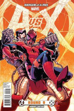 Avengers Vs. X-Men # 9 (Variant) by Ryan Stegman