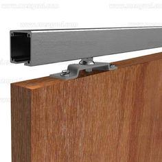 Double Sliding Doors, Diy Sliding Door, Diy Door, Room Divider Doors, Sliding Room Dividers, Barn Door Window, Cama Box, Kitchen Cabinet Styles, 3d Home
