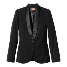 Just got one - fits perfect! So adorable! Kirna Zabete for Target® Long-sleeve Blazer in Black $49.99