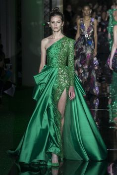 Zuhair Murad Spring 2017 Couture Fashion Show - The Impression