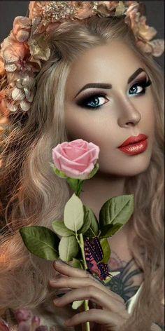 GIF descoberto por Iriska. Descubra (e salve!) suas próprias imagens e vídeos no We Heart It Beautiful Women Videos, Most Beautiful Eyes, Beautiful Fairies, Gifs, Heavy Metal Girl, Wonder Woman Art, Wedding Dress Cake, Bridal Makeup Looks, Romantic Pictures
