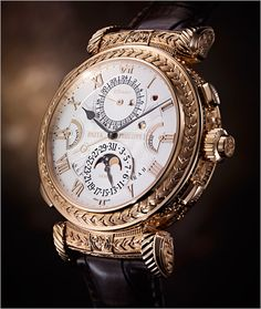 PATEK PHILIPPE SA - 175th Collection Ref. 5175R-001 Rose Gold