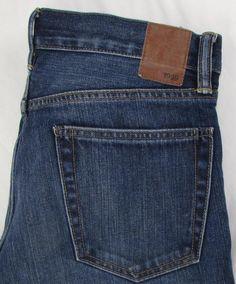 Men Gap 1969 Straight Leg Jeans Dark Wash 100% Cotton sz 31 X 30 #GAP…
