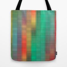 Links of Color Tote Bag by Betty Mackey