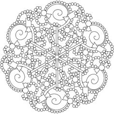 Mandala is known worldwide symbol of universe and it is mostly known in Indian regions. I think that mandala coloring pages are more for adults than they are for kids. Please see below for some of the best mandala coloring pages. Abstract Coloring Pages, Pattern Coloring Pages, Mandala Coloring Pages, Coloring Book Pages, Printable Coloring Pages, Coloring Pages For Kids, Coloring Sheets, Mandala Pattern, Zentangle Patterns