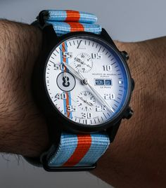 a Blog to Watch - Maurice de Mauriac Le Mans Watch Review