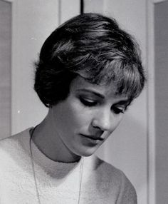 THe poster girl for beautiful short hair--Julie Andrews.
