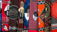 Traditional designs of cloth - Swaziland — Wikipédia