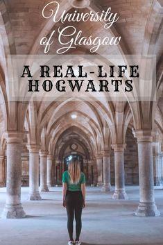 University of Glasgow – A Real-life Hogwarts
