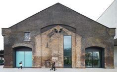 Exterior of brick listed building Central Saint Martins London United Kingdom Architect Stanton Williams 2011 Architecture Renovation, Industrial Architecture, Facade Architecture, Ancient Architecture, Contemporary Architecture, Central Saint Martins, Loft, Stanton Williams, World Architecture Festival
