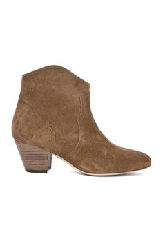 Dicker Velvet Booties