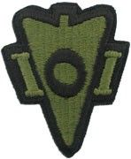 101st Airborne Recondo Army Patch Subdued Item 1-P403