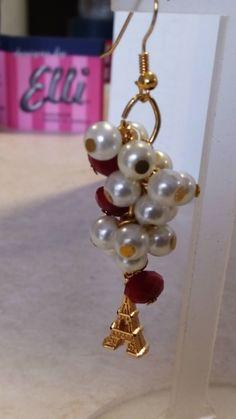 Handmade earings designed by Elli lyraraki!!!