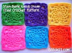 Fiber Flux...Adventures in Stitching: It's a Color Explosion! 40 Free Patterns Full of Happy Color...