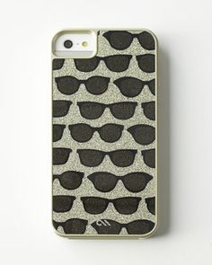 Glam Print Sunglasses iPhone 5/5s Case at Neiman Marcus.